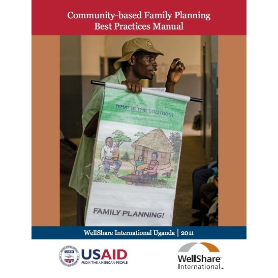 Community-based Family Planning Best Practice Manual - English