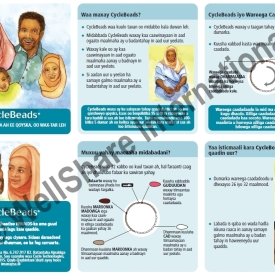 CycleBeads Instructional Insert – Somali – Downloadable