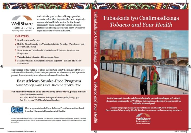 Tobacco and Your Health DVD - Somali