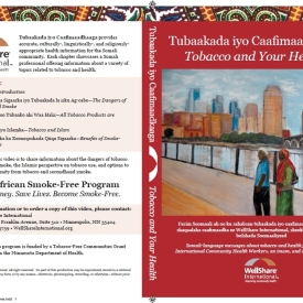 Tobacco and Your Health DVD – Somali