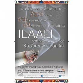 Secondhand Smoke Poster - Somali