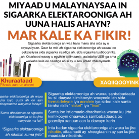 Vaping Poster - Somali - Downloadable