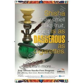 Hookah Poster – English