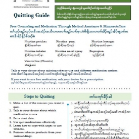 Quitting Guide - English and Karen - Downloadable